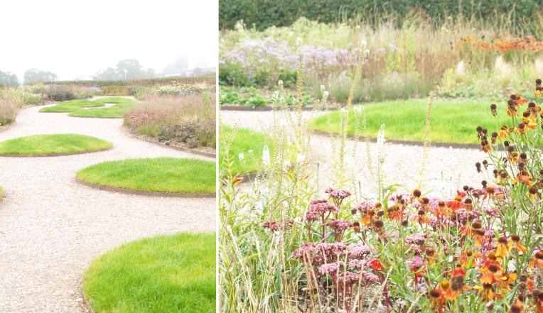 Places piet oudolf hauser wirth working plot for Piet oudolf favorite plants